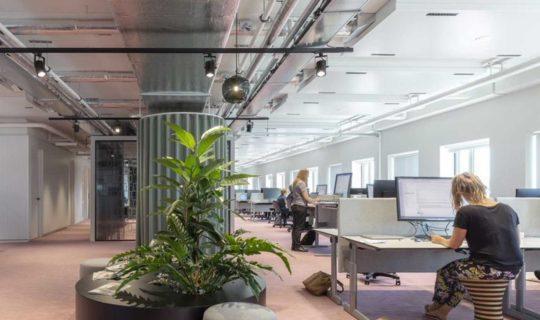 City Office Alkmaar renovated Smart building